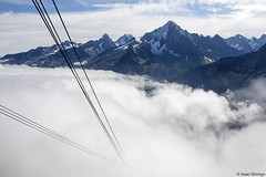 Cableway to Nowhere (isaac.borrego) Tags: france chamonix alps frenchalps europe