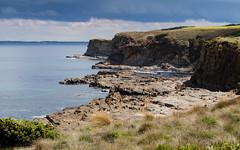 Kilcunda Cliffs (laurie.g.w) Tags: kilcunda cliffs bass coast victoria australia shoreline coastline ocean rocks water cliud sky coastalwalk eosm