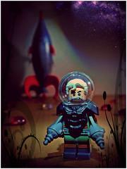 Old Spacers Never Die (LegoKlyph) Tags: lego brick block build space nerd sci fi geek retro rockets pulp rocketman raygun