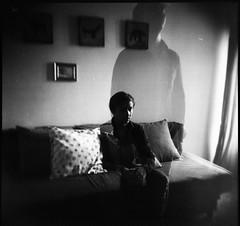 (Victoria Yarlikova) Tags: film holga 120mm analog lomo mediumformat toycamera monochrome surreal scan плёнка