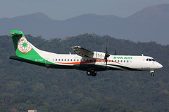 B-17017, ATR72-600, EVA Air, Taipei Sungshan (ColinParker777) Tags: b17017 atr alenia leonardo at7 atr72 atr72600 eva air br uni b7 airlines airline airways airliner aviation fly flying flight travel landing approach finals propellor prop turboprop aircraft aeroplane tsa rcss taipei sungshan airport taiwan china republic canon 5d 5d3 5dmkiii 5diii 5dmk3 200400 l lens zoom telephoto pro