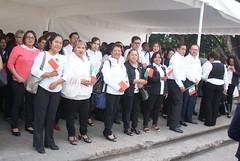 PERSONAL DE COESIDA RINDE HOMENAJE EN SEPTIEMBRE MES DE LA PATRIA