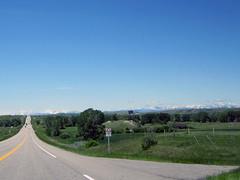 Alberta Highway 6 (januszsl) Tags: road highway droga szosa strasse goryskaliste rockymountains canadianrockies montagnesrocheuses mountain mountains gora berg montagne montaña montagna rocheusescanadiennes prairie preria municipaldistrictofpinchercreek alberta canada