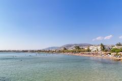 Beach in Vouliagmeni Athens, Greece