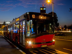 Solaris Urbino 18 (Somi303) Tags: solaris urbino 18 gsp beograd belgrade novi new ušće usce linija 43 long exposure niskopodni zglobni autobus low floor articulated bus гсп београд нови ушће линија