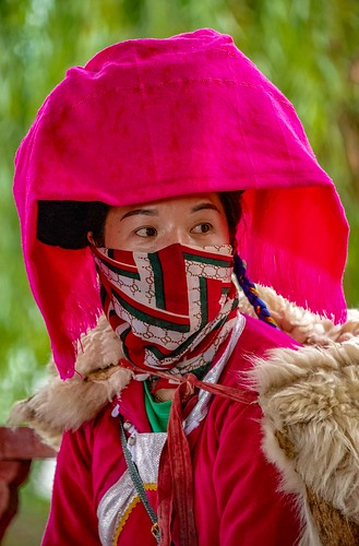 Mosuo Woman. (in explore)