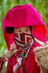 Mosuo Woman (Rod Waddington) Tags: china chinese yunnan lake lugu mosuo woman traditional tribe tribal culture cultural ethnic ethnicity minority outdoor portrait people candid