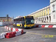 CCFL 4604 Mercedes-Benz Citaro G 96 - GL - 82 Praça do Comercio [ 7 ] (madafena1) Tags: ccfl 4604 mercedesbenz citaro g autocarro lisboa