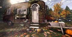 Gypsy Autumn (MadsPhotoFreak) Tags: what next apple fall secondlife sl gypsy wanderlust dust bunny