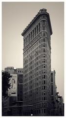 Flat Iron building, NYC... (zapperthesnapper) Tags: flatironbuilding nyc newyork city urban architecture blackandwhite mono monochrome monochromatic
