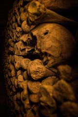 Katakumby Paryża. (Patryk Krzyzak) Tags: fotografia krzyzak paris paryz paryå¼ patryk photographer photography trip les catacombes de paryż foto fotograf