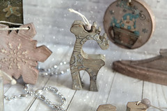 christmas soul (Button-NK) Tags: decoupage toys holiday newyear christmas hobby decorationforthechristmastree