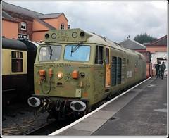 50033 (zweiblumen) Tags: 50033 class50 diesel classic vintage englishelectric severnvalleyrailway kidderminster worcestershire england uk train locomotive canoneos50d polariser zweiblumen glorious