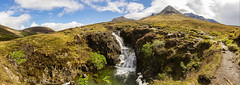 Cascade, Cuillins, Isle of Skye [Scotland] (Vins 64) Tags: uk scotland landscape isleofskye skye waterfall fall cascade panoramic