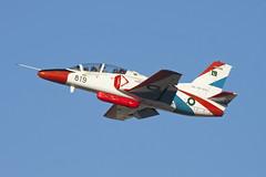 06-08-819_K-8Karakorum_PakistanAF_DXB (Tony Osborne - Rotorfocus) Tags: pakistan air force dubai airshow 2011 hongdu jl8 nanchang karakorum8 k8 jet trainer sherdils display team united arab emirates uae