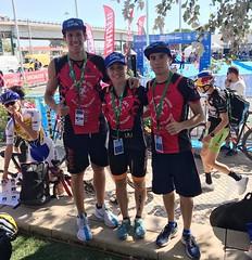 Campeonato de Europa de Relevos Mixtos por Clubs Lisboa triatlon Team Claveria 6