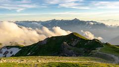 Mt.Shiroumadake (bamboo_sasa) Tags: 白馬岳 北アルプス 後立山連峰 百名山 白馬大雪渓 白馬村 長野 登山 信州 日本 shiroumadake northern alps hakuba snowy nagano valley shinshu trekking japan mountain