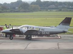 G-SENE Piper Seneca 34 (Orion Coil Coating Ltd) (Aircaft @ Gloucestershire Airport By James) Tags: gloucestershire airport gsene piper seneca 34 orion coil coating ltd egbj james lloyds