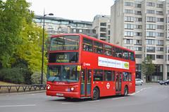 VLA31 - LJ53 BDV (Solenteer) Tags: arrivalondon arrivalondonsouth vla31 lj53bdv volvo b7tl transbus alx400 parklane