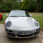 20181007 - Porsche 911 (997-1) Carrera 4S 355cv - N(2867) - CARS AND COFFEE CENTRE - Chateau de Chenonceau thumbnail
