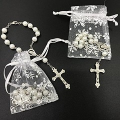First Communion Baptism Rosary Gift Pack (mywowstuff) Tags: gifts gift ideas gadgets geeky products men women family home office