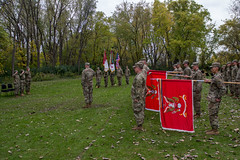 181013-A-PC761-1063 (416thTEC) Tags: 372nd 372ndenbde 397th 397thenbn 416th 416thtec 863rd 863rdenbn army armyreserve engineers fortsnelling hhc mgschanely minneapolis minnesota soldier usarmyreserve usarc battalion brigde command commander commanding historic
