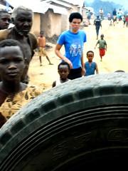 By Photographer and Refugee Byishimo J. Baptiste (camera_rwanda) Tags: portrait unhcr byishimojbaptistephotographerandrefugee refugeecamp kizibacamp photographyexhibitionatarefugeecamp africahumanitarianaction youthphotographer internationalphotographyproject cameraliteracy teachingphotographytorefugees refugeeart refugeelifebyrefugee rwanda africa nikon nikoncoolpix humanrights refugeeyouth lifeinarefugeecamp nikoncoolpixs2500 tire
