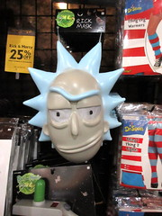 Rick and Morty Masks Halloween Pop Up Store 2916 (Brechtbug) Tags: rick morty masks from animated tv show new york costumes halloween adventure mask store 2018 nyc animatronic display below ground broadway 42nd street costume midtown manhattan 10172018 city ben cooper halco collegeville logos holiday warning villain animation cartoon cartoons