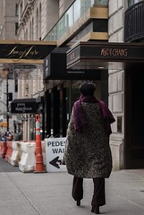 Pedestrian Walkway. (dtravano) Tags: 50mmlens nikond3000 streetphotography photooftheday lightsandshadows colorsandtones nyc newyorkers urbanstyle streetscene citylife