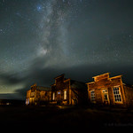 Main Street Bodie on a Stormy Night thumbnail