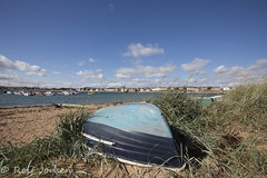 Elie harbour (rjonsen) Tags: fife scotland alba sea harbout boat beach sand bay seafront urban