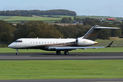 N91FX Bombardier BD700 Global 6000 EGPK 22-0918 (MarkP51) Tags: n91fx bombardier bd700 global6000 flexjets bizjet corporatejet prestwick airport pik egpk scotland airliner aircraft airplane plane image markp51 nikon d7200 sunshine sunny aviationphotography
