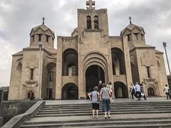IMG_9660 Armenia  : Cattedrale di Yerevan ( Facciata ) (sandromars) Tags: armenia yerevancathedral facade
