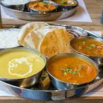 Thali Lunch - Chicken Korma - Hünchenbrust in cremigem Kokosnuss-Cashew Curry thumbnail