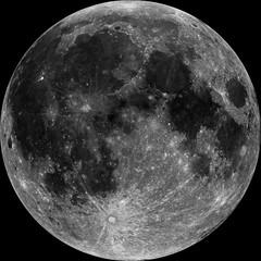"Lroc Mosaic ""Nearside_'orth'_albedo"" (TerraForm Mars) Tags: lunar moon lroc nasa nearside"