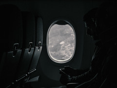 travellers (Bernal Saborio G. (berkuspic)) Tags: airtravel travellers airplane flight flying people