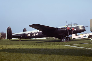 G-APRJ Avro Lincoln B.2 EGMC 05-04-75