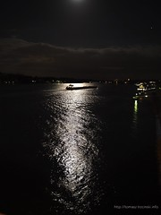 Moonlight on The Rhein River (fotomuse2014) Tags: rhein mainz moon night nightphotography light moonlight