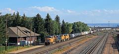 Laramie depot (delticfan) Tags: laramie up unionpacific up2686 up4414 prlx4691