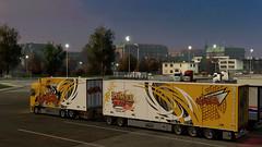 eut2_hq_5bb3b19c ([johannes]) Tags: ets2 euro truck simulator 2 exceptionnel way road ristimaa trucking tuning trailer transport trucks thermo yellow style super scania skin stiholt nextgen v8 convoi customs lkw lastkraftwagen lights
