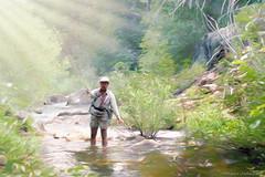 No Better Way To Spend A Day (Romair) Tags: sliderssunday markleevilleca fishing troutfishing flyfishing rogerjohnson