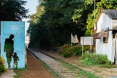 Hangdong Railway (Tachial) Tags: 구로구 서울특별시 대한민국 kr fe carlzeiss lce7rm3 sony fullframe railway sel55f18z a7r3 55mm