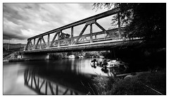 The Bridge at Saint Florent (Wilco1954) Tags: leefilters corsica hautcorse bridge longexposure river saintflorent