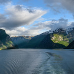 Sunlight finally comes to Sognefjord thumbnail