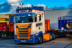 Essex Internationlas New S650 that went on the Road at the Start of August 2018 (Rab,Driver of P300NJB @Grampian Continental..) Tags: beverwijk northholland netherlands nl