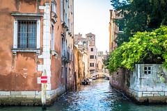 More narrow waterways in Venice Italy.