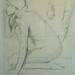 DEGAS Edgar,1860-62 - Sémiramis construisant Babylone, Etude (Louvre RF15488) - Detail 01