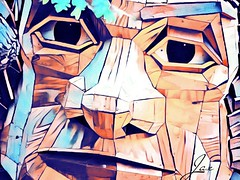 furry ema. 2018 (timp37) Tags: statue sculpture illinois lisle art troll hunt photolab september 2018 furry ema morton aboretum
