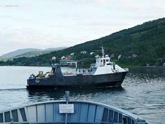 """""""Vengsøy"""" (OlafHorsevik) Tags: vengsøy torghattennord thn stornes ferge ferga ferry ferja ferje øylandsruta senjafergene vaggasvarre"""
