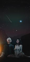 [ᴀᴛ ᴛʜᴇ ғɪʀsᴛ sᴇᴄᴏɴᴅ ɪ ᴋɴᴇᴡ ɪ ғᴀʟʟ ᴀᴘᴘᴀʀᴛ ᴡɪᴛʜᴏᴜᴛ ʏᴏᴜʀ ᴀʀᴍs] (Kotori inworld oomiyuoo) Tags: love campfire secondlife romance stars night dura doux cx catwa tresblah deadwool coldash himmel sky